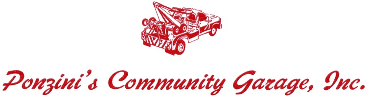 Ponzini's Community Garage, Inc.